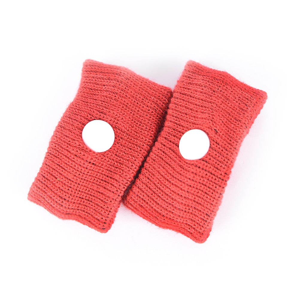 Natural Nausea Relief Travel Band 1 Red Pair Anti-Nausea Acupressure Wristband for Morning or Sea Sickness