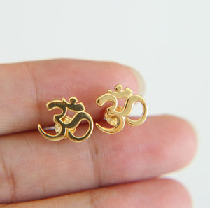 OHM Dainty Stud Earrings - Womens Jewelry