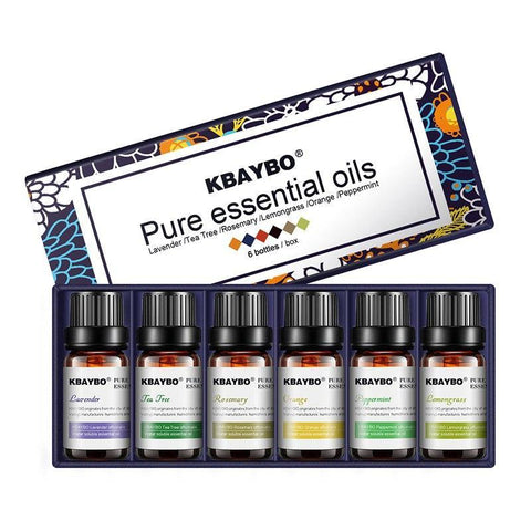 NamasteGolden.com Aromatherapy Essential Oil Set of 6