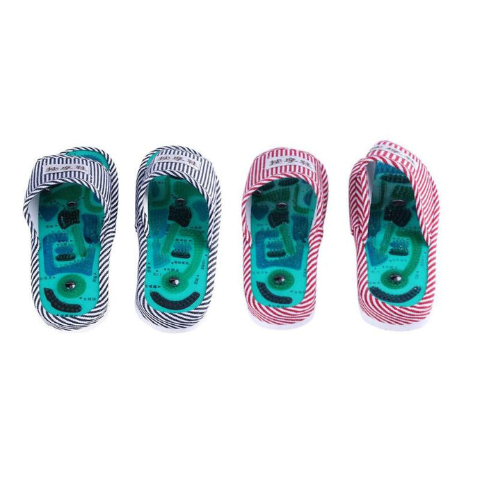Acupoint Foot Massage Slippers Magnetic Acupressure Sandals