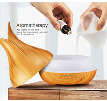 400ml Aromatherapy Essential Oil Diffuser Ultrasonic Air Humidifier - Home Decor
