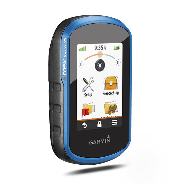 Garmin, eTrex Touch 25, Handheld GPS device, Blue