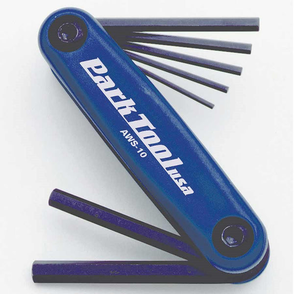 Park Tool, AWS-10, Folding hex wrench set