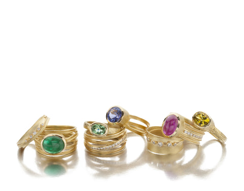 Barbara Heinrich gemstone rings