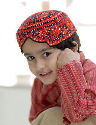 Embroidered Sindhi Cap