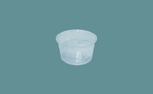 Vaso Souffle Biodegradable, 4 oz