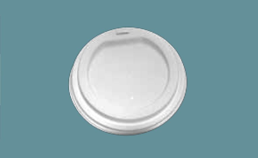 Tapa Vaso Térmico Biodegradable, 10/16 oz