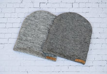 Salt and Pepper Slouchy Beanie