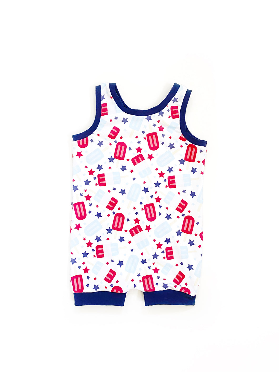 Popsicle Snapless Romper