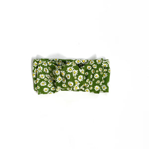 Green Daisy headband