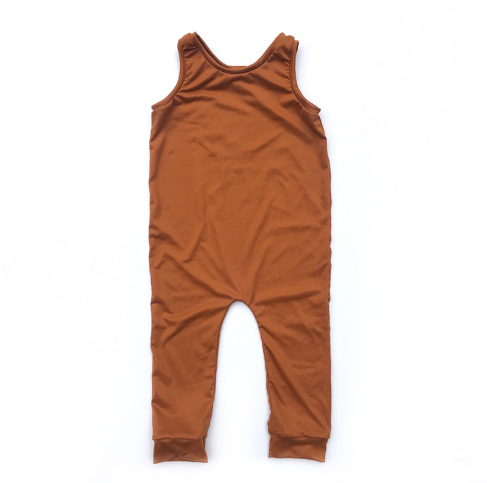 Ginger Snapless Romper