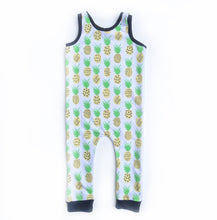 Pineapple Snapless Romper