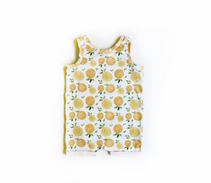 Clementine Snapless Romper