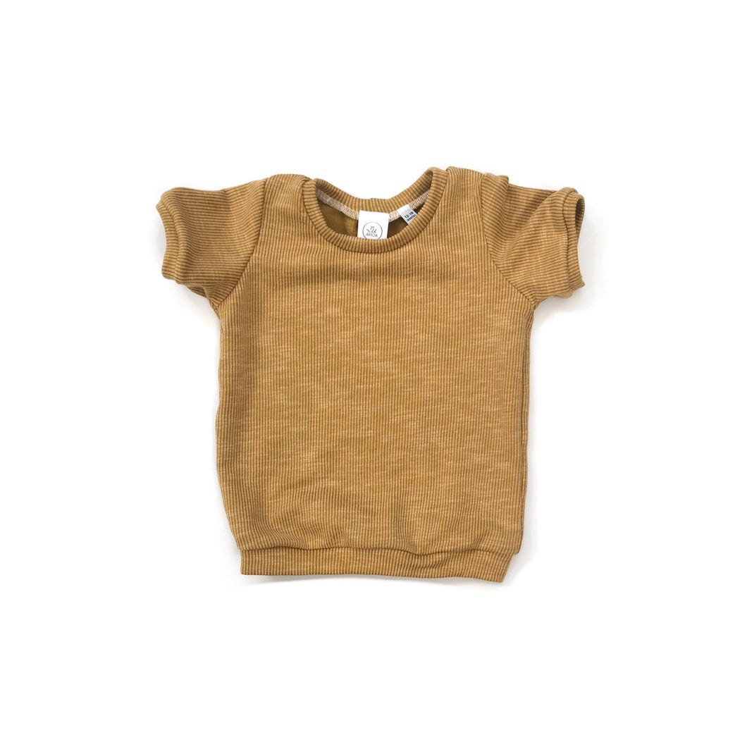 Ribbed Honey tee