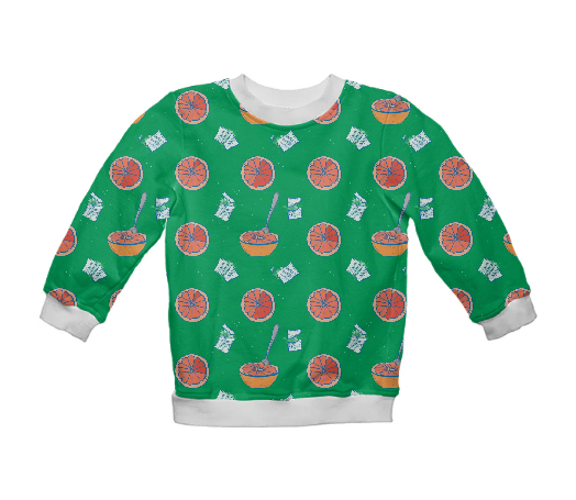 Kid's Grapefruit Sweatshirt