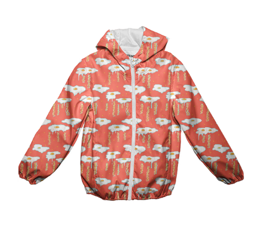 Eggs + Bacon Kid's Raincoat
