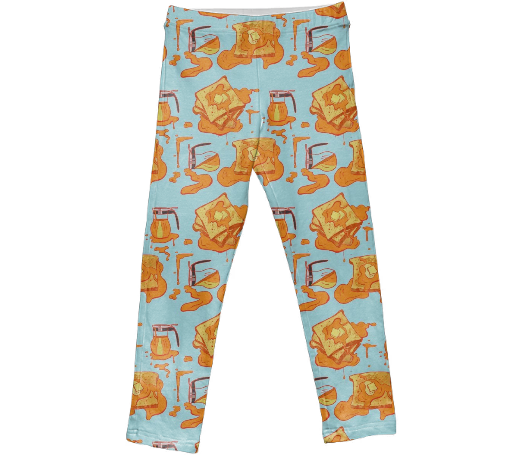 Kid's French Toast Leggings
