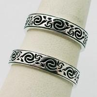 Celtic duo wedding rings