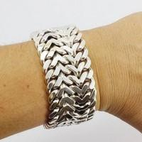 big curb chain bracelet