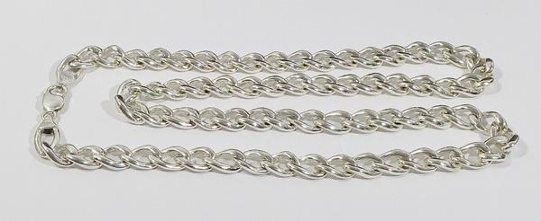 big silver chain for men