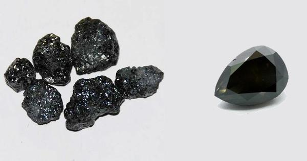 Black Diamond A Price Equal To The Mystery Of Its Origin