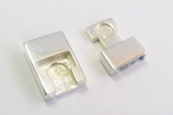 magnetic silver clasps