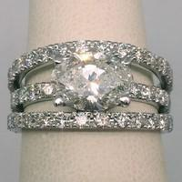 engagement ring diamonds