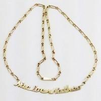 custom gold necklace names