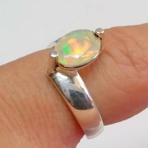 Noble opal ring