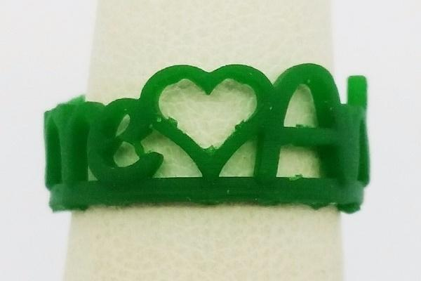 wax model name ring