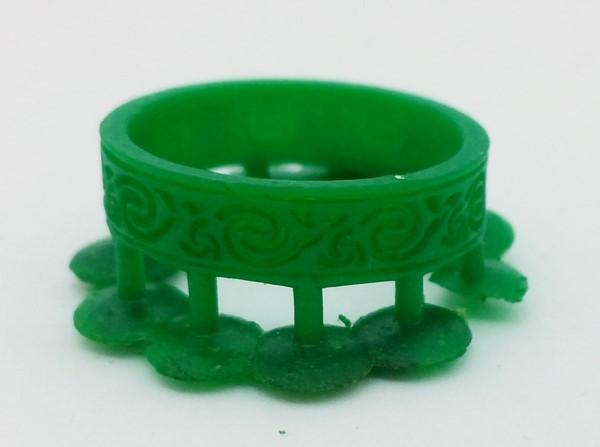 wax model wedding ring