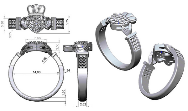 claddaph ring design