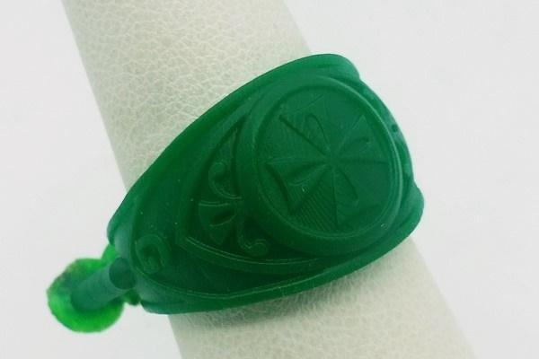 Resin cross ring printed by the 3D printing process