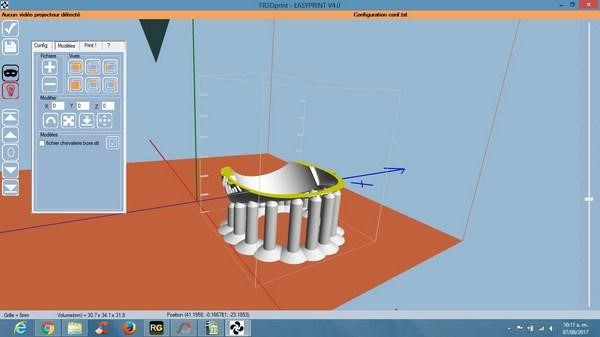 printing software for bottom up 3d printer