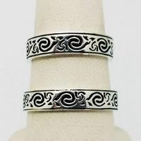 celtic silver wedding bands