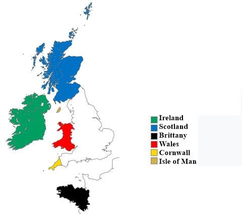 celtic nations nowadays
