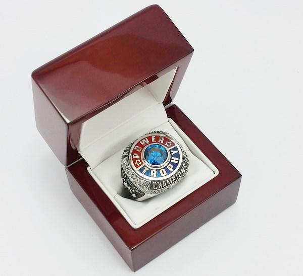 view of the championship ring in its delivery box