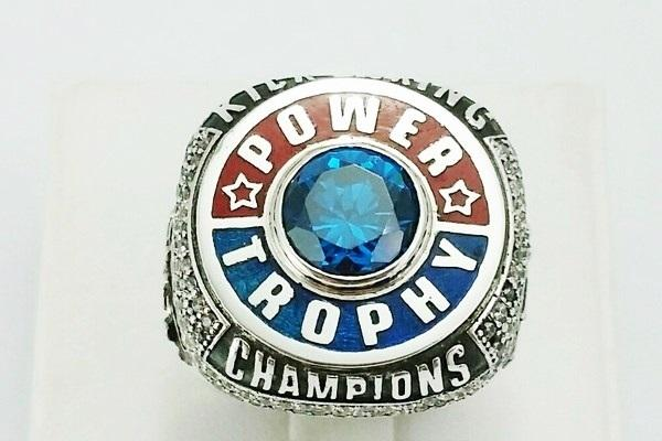front view championship ring