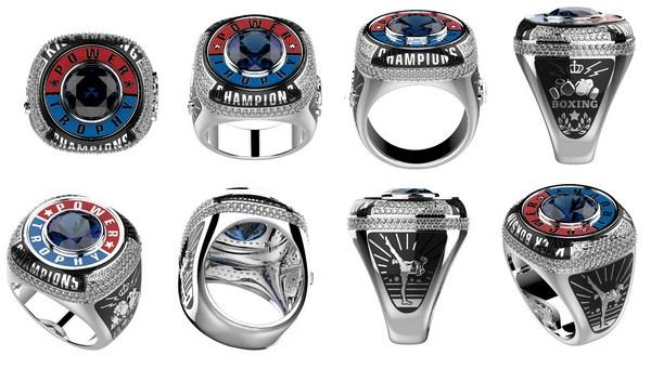 custom championship ring rendering