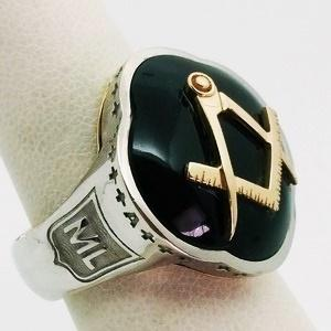 6a9d82c0 large masonic signet ring custom made in gold ...
