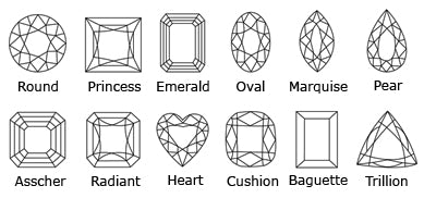 Diamond cut shape