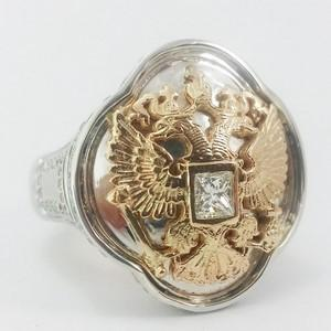 gold eagle signet ring