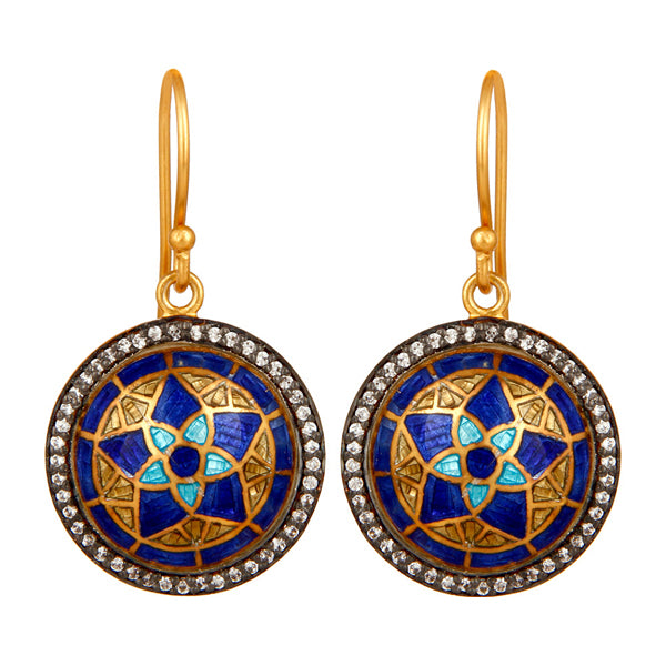 meenakaria earrings