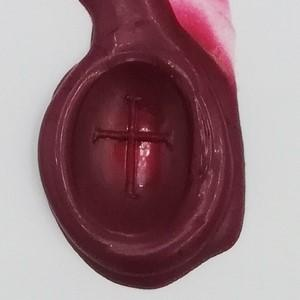 wax seal made from an onyx intaglio signet ring