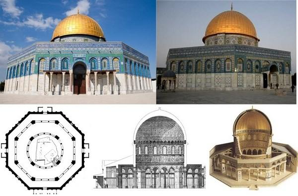 dome of the rock mosque plans for ring making