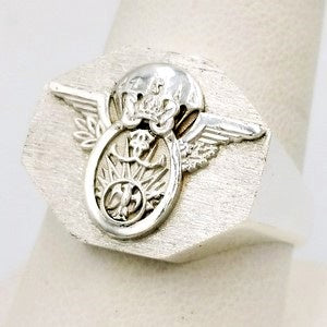 french special forces coat of arms ring