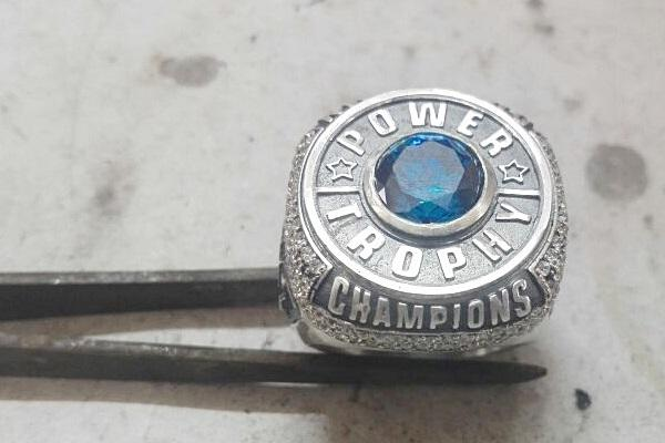making process of the championship ring