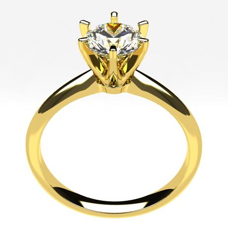 Yellow gold 18k-1 carat