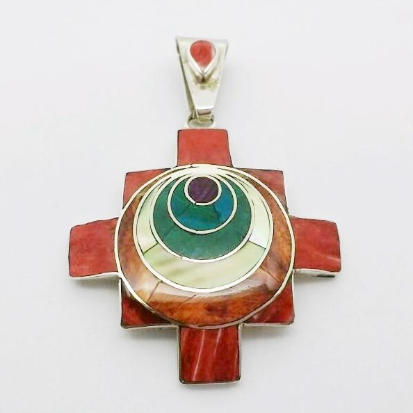 Chakana cross pendant