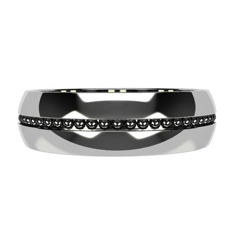White gold 18k-rhodium plating black gold